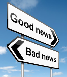 Good news bad news about change